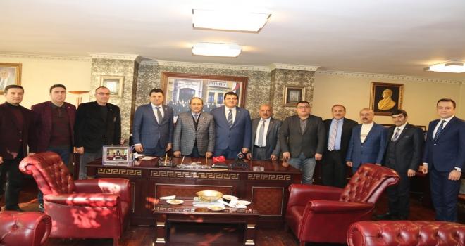 CHP milletvekillerinden SESOBa ziyaret