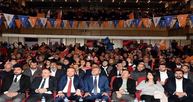 AK Parti Kırıkkale Aday Tanıtım Toplantısı
