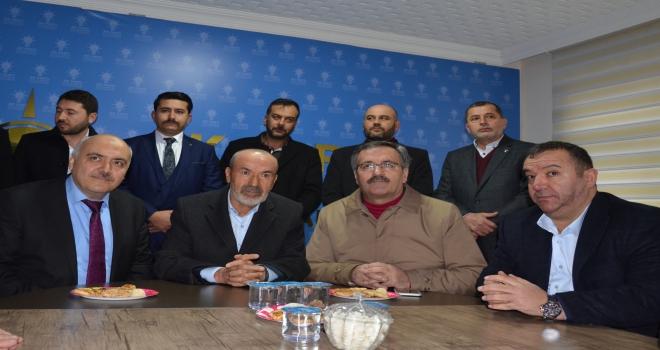 MHP Genel Başkan Yardımcısı Yıldırımdan AK Partiye ziyaret