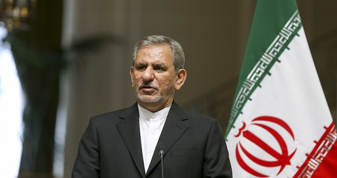İran Cumhurbaşkanı Yardımcısı Cihangiri: ABDnin amacı halkın rejimden ümidini kesmesidir