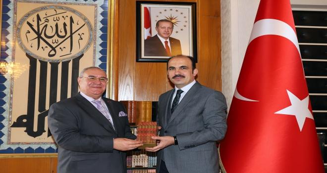 Tunus Büyükelçisi Mustafa, Konyada