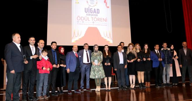 ÜİGAD Kırşehir Temsilciliği basın ödülleri