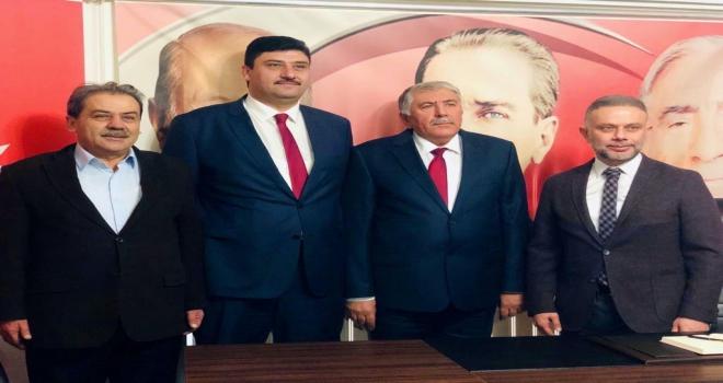 Kahramankazanda AK Partiden MHPye ziyaret