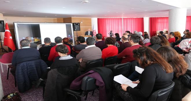 CÜde bilimsel çalışma toplantısı