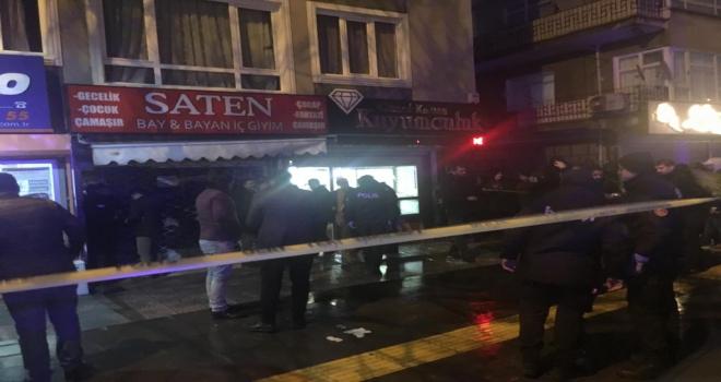 Ankarada kuyumcu soygunu: 1 ölü