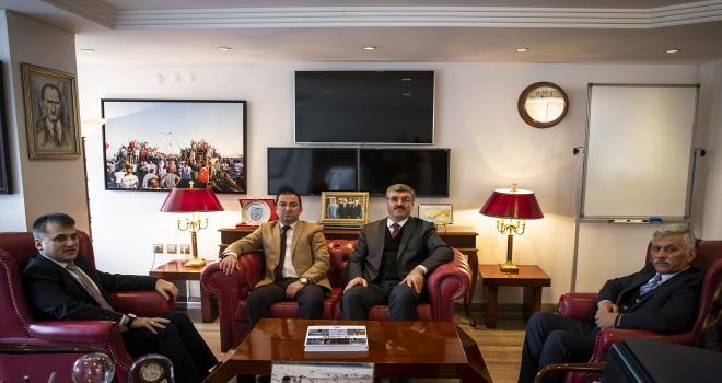Türk Veteriner Hekimleri Birliğinden AAya ziyaret