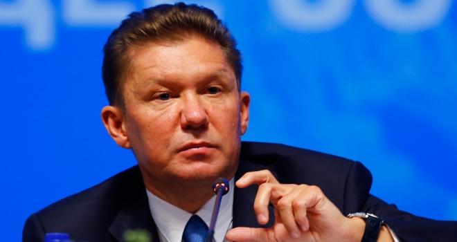 Gazprom Başkanı Miller: Kuzey Akım 2nin yüzde 20si tamamlandı