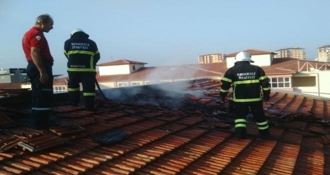 Kırıkkale Belediyesi İtfaiyesi 736 olaya müdahale etti