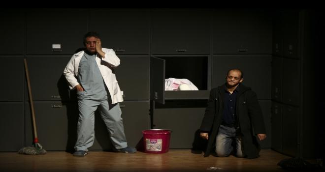 Dava Filistin oyunu başkentte sahnelendi