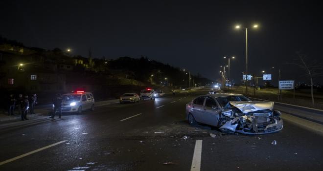 Başkentte trafik kazaları: 6 yaralı