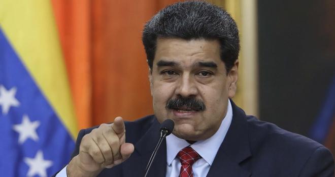 Venezuela Devlet Başkanı Maduro: Venezuelanın egemenliğine kasteden darbeyi bozguna uğratacağız