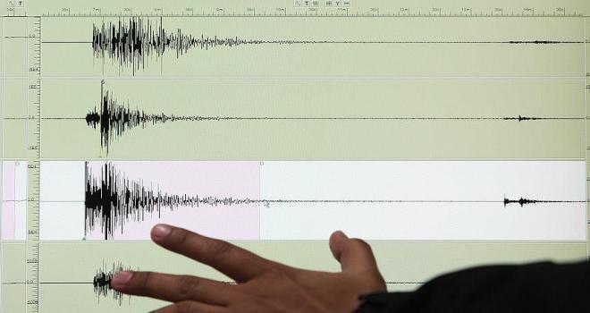 İzmirde 4,3 büyüklüğünde deprem