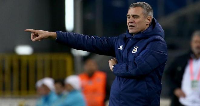 Fenerbahçe Teknik Direktörü Yanal: Beklemediğimiz bir sonuçla üzüldük