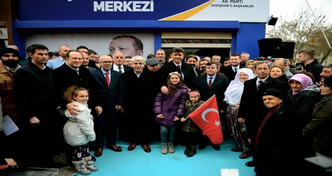 AK Parti İl Seçim Koordinasyon Merkezi açıldı