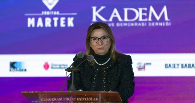 Türk kadın girişimcisini marka yapmak için hep beraber çalışacağız