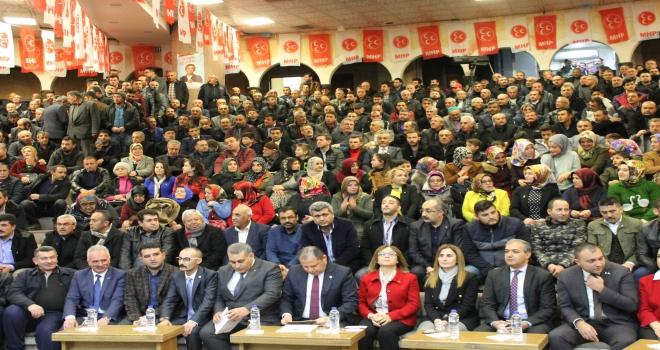 MHP Aday Tanıtım Toplantısı