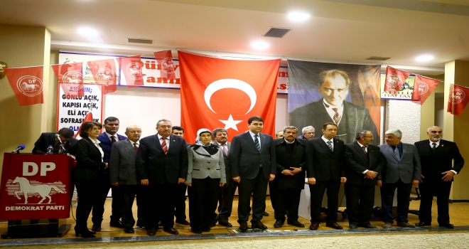 Demokrat Parti Konya Aday Tanıtım Toplantısı
