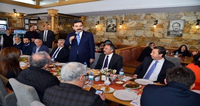 Başkan Bahçeci STK temsilcileriyle buluştu