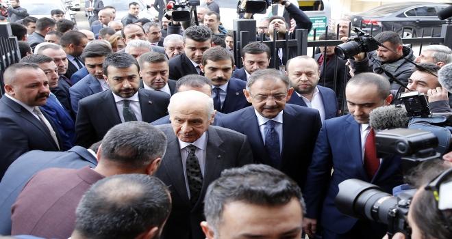 MHP Genel Başkanı Bahçeli: Yıldırımın istifa kararı erdemli bir davranıştır