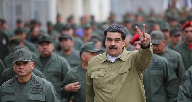 Venezuela Devlet Başkanı Maduro: ABD, Libya ve Irakta yaptığını Venezuelada yapmaya çalışıyor