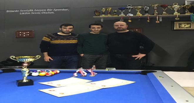 Sivasspor bilardo takımı il birincisi oldu
