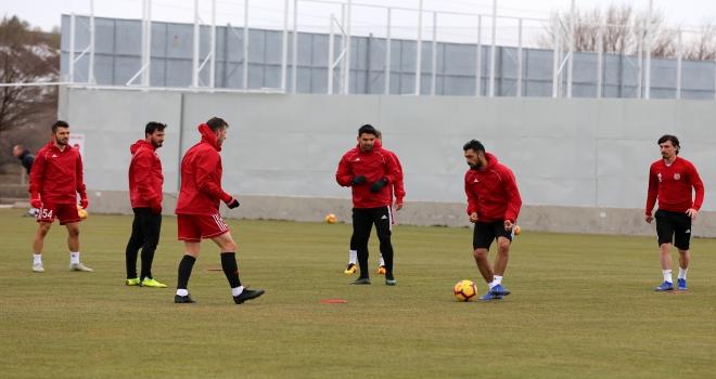 Sivassporda, Kasımpaşa maçı hazırlıkları