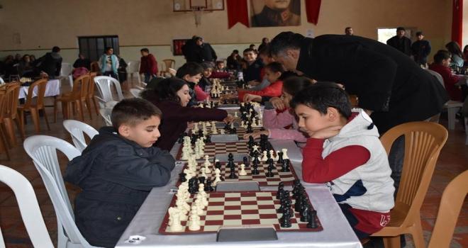 Seydişehirde Kış Tatili Satranç Turnuvası