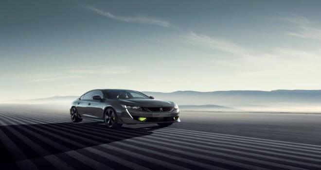 Peugeot Sport Engineered 508 Concept ile yenilikçi performans