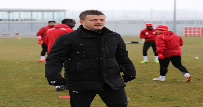 Sivassporda Bursaspor maçı hazırlıkları