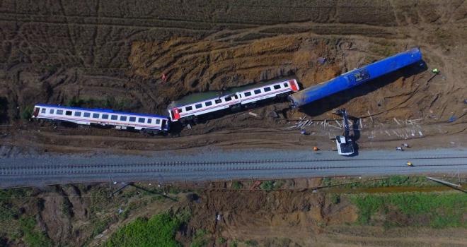 Çorludaki tren kazasıyla ilgili Başsavcılık soruşturmasını tamamladı