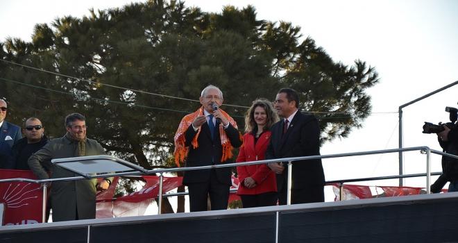 CHP Genel Başkanı Kılıçdaroğlu: Biz ülkemizi seviyoruz, kavga istemiyoruz