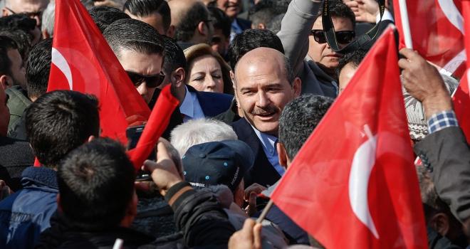 İçişleri Bakanı Soylu: Bugün milletimiz hem iktidar hem muktedirdir