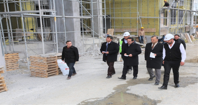 Sivas İl Özel İdaresi inşaat çalışmalarına hız verdi