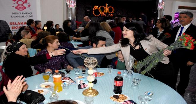 Kırşehirde Dünya Emekçi Kadınlar Günü etkinliği