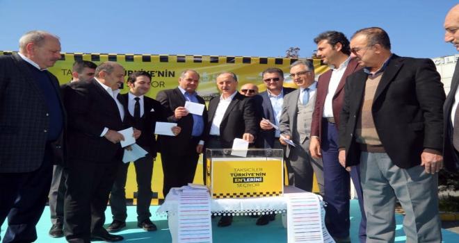 Taksiciler, Türkiyenin enlerini seçiyor yarışması