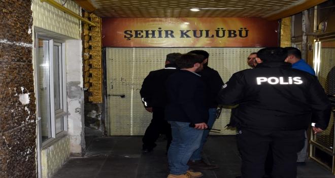 Kırıkkalede dernek lokaline kumar operasyonu