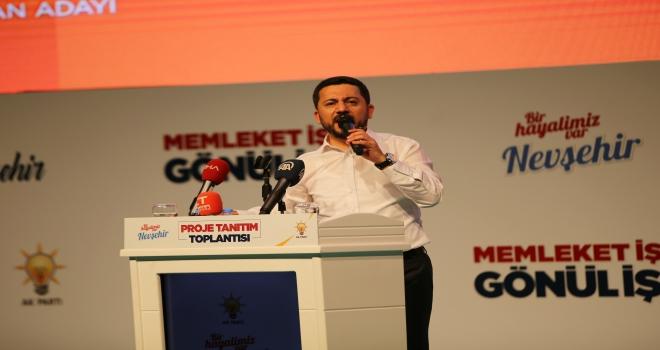 Nevşehir, Türkiyenin model aldığı şehir olacak