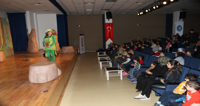 Bosch Çevre Çocuk Tiyatrosu, Çorumlu çocuklarla buluştu