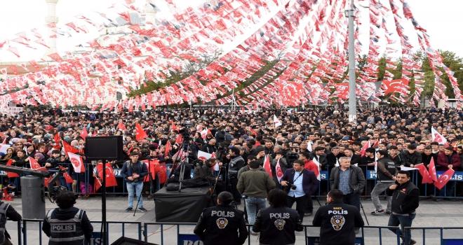 MHPnin Kırıkkale mitingi