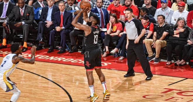 Rocketsı Warriors durdurdu