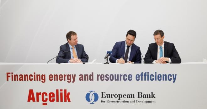 Arçelikten EBRD ile yaklaşık 1 milyar TLlik kredi anlaşması