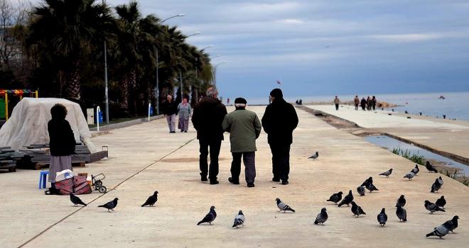 Türkiyede yaşlı nüfus 5 yılda yüzde 16 arttı