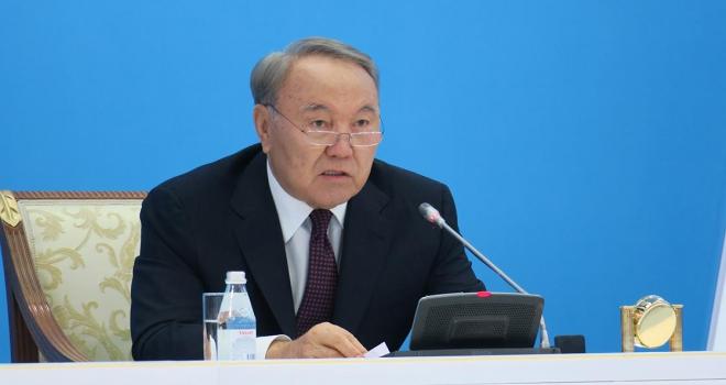 Nazarbayevden halka teşekkür