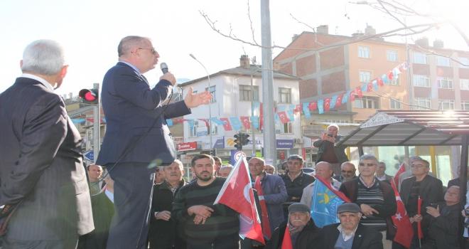İYİ Parti Genel Başkan Yardımcısı Özdağ, Seydişehirde
