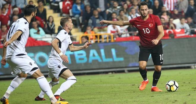 ArnavutlukTürkiye maçının hakemi belli oldu