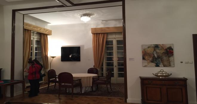 İtalyanın Ankara Büyükelçiliğinde resim sergisi