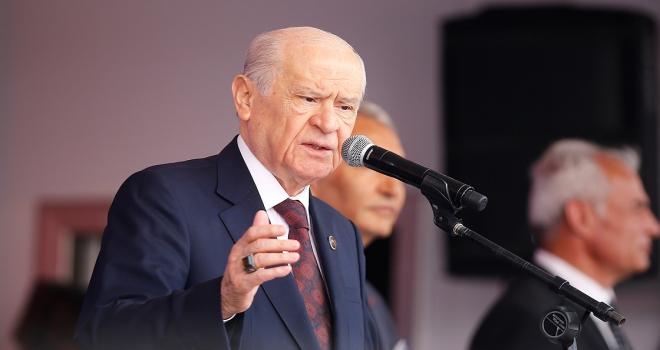 MHP Genel Başkanı Bahçeli: Türkiyenin karşısında puslu bir ittifak kurulmuştur
