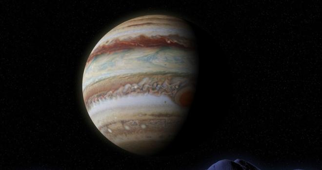 Jüpiter ilk oluştuğunda Güneşe 4 kat daha uzak mesafedeymiş