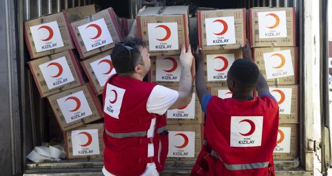 Türk Kızılaydan Mozambikteki afet bölgesine yardım