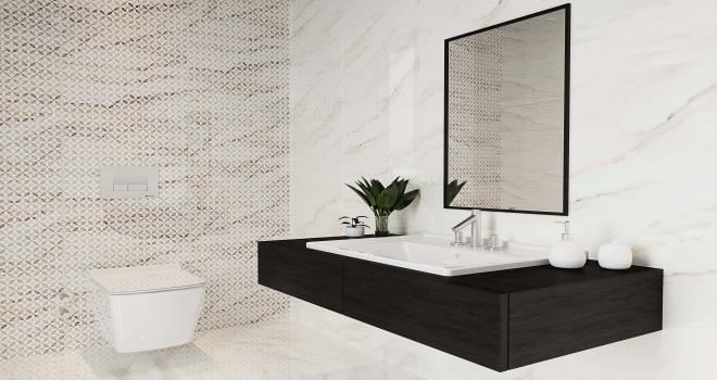 Seramiksandan 2019 banyo dekorasyon trendleri